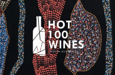 Cover detail from Hot 100 Wines 2016/17 publication