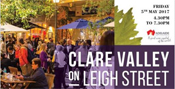 Clare Valley on Leigh Street banner