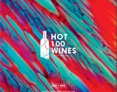 Cover of Hot 100 Wines publication