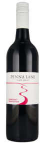 A single bottle of Penna Lane Cabernet Sauvignon
